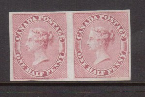Canada #8 VF Mint Pair **With Certificate**