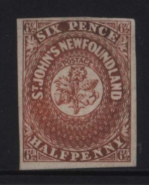 Newfoundland #7 VF Mint **With Certificate**