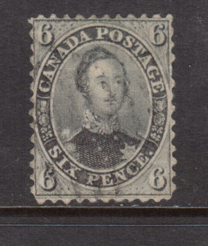Canada #13 VF Used **With Certificate**