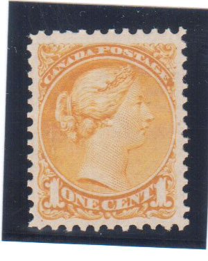 Canada #35d VF+/NH **With Certificate**