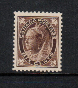 Canada #71 XF/NH Gem **With Certificate**