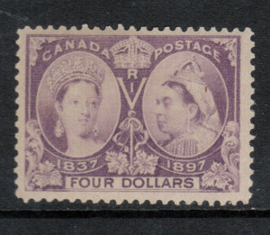 Canada #64 XF/NH **With Certificate**