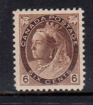 Canada #80 XF/NH Gem **With Certificate**