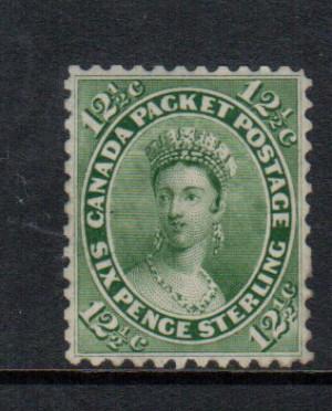 Canada #18a XF Mint Gem **With Certificate**