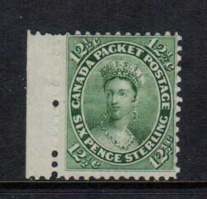 Canada #18ii VF Mint **With Certificate**