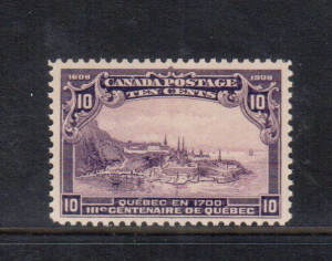 Canada #101 XF/NH **With Certificate**