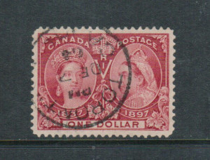 Canada #61 XF Used Gem With Toronto Dec 04 CDS Cancel **With Cert.**