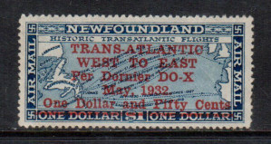 Newfoundland #C12 VF/NH **With Certificate**