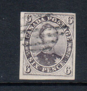Canada #10 XF Used **With Certificate**