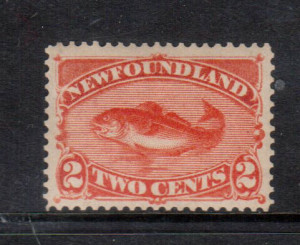 Newfoundland #48b VF/NH **With Certificate**