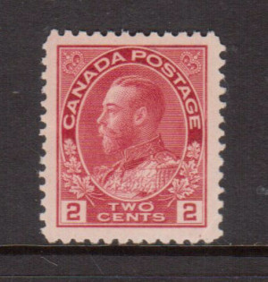 Canada #106iv XF/NH Gem **With Certificate**