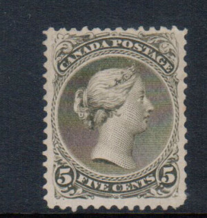 Canada #26 VF Mint **With Certificate**
