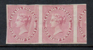 Canada #8 VF Mint Rare Pair **With Certificate**