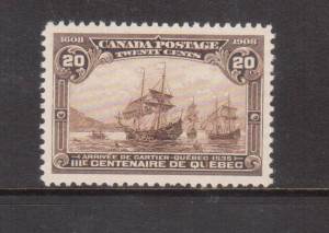 Canada #103 XF/NH Gem **With Certificate**