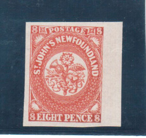 Newfoundland #8 XF/NH Gem **With Certificate**