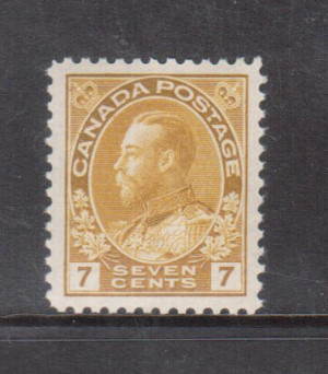 Canada #113 XF/NH Gem **With Certificate**