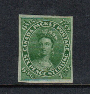 Canada #9a Mint **With Certificate**