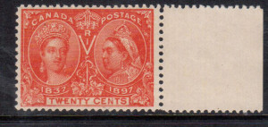 Canada #59ii VF/NH W-E Variety **With Certificate**