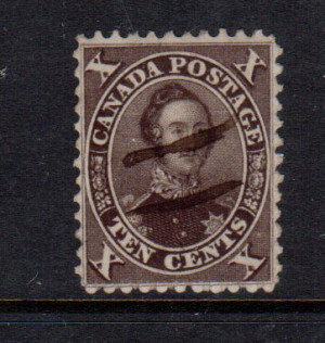 Canada #16i XF Used **With Certificate**
