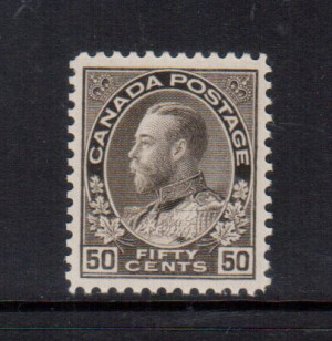 Canada #120 XF/NH Gem **With Certificate**