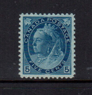 Canada #79 XF/NH Gem **With Certificate**