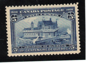 Canada #99 XF/NH Gem **With Certificate**