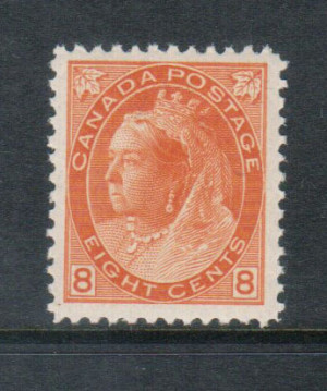 Canada #82 VF+/NH **With Certificate**