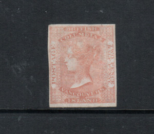 British Columbia #1 VF Mint **With Certificate**