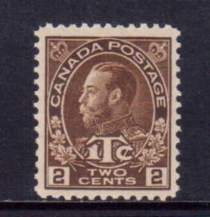 Canada #MR4a VF/NH **With Certificate**