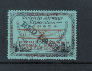 Canada #CL21b XF/NH Violet Overprint Descending **With Certificate**