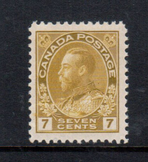 Canada #113iv XF/NH Gem **With Certificate**