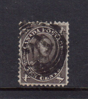 Canada #16 XF Used **With Certificate**
