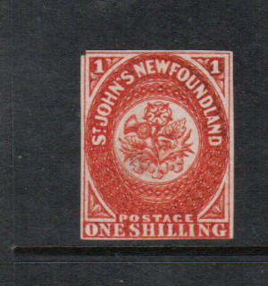 Newfoundland #9 Mint Unused (No Gum) **With Certificate**