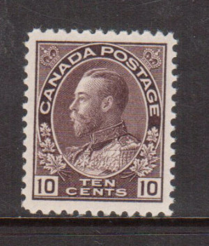 Canada #116 VF+/NH **With Certificate**