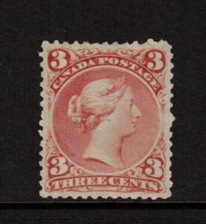 Canada #25 XF Mint **With Certificate**