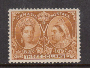 Canada #63 XF/NH **With Certificate**