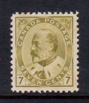 Canada #92ii XF/NH **With Certificate**