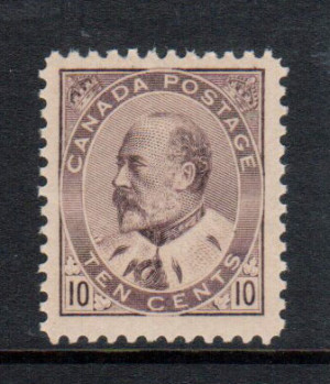 Canada #93 XF/NH **With Certificate**