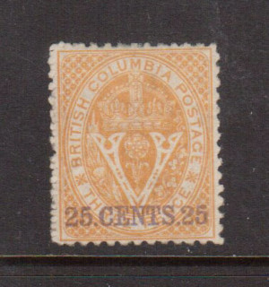 British Columbia #16 XF Mint **With Certificate**