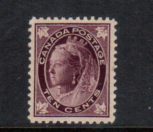 Canada #73 XF/NH Gem **With Certificate**