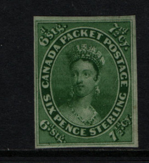 Canada #9 VF Mint **With Certificate**