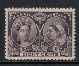 Canada #56 XF/NH **With Certificate**