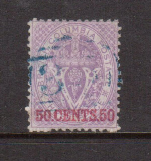 British Columbia #17 XF Used **With Certificate**