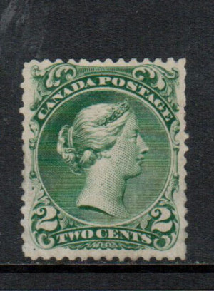 Canada #24iv VF Mint **With Certificate**