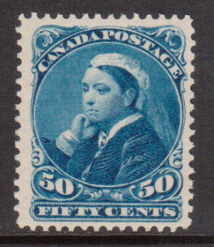 Canada #47 VF/NH **With Certificate**