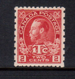 Canada #MR5 XF/NH Gem **With Certificate**