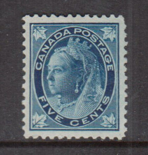 Canada #70 XF/NH Gem **With Certificate**