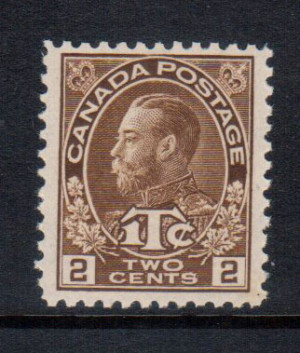 Canada #MR4a XF/NH **With Certificate**