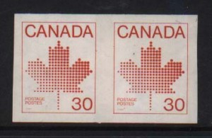 Canada #950a XF/NH Imperf Pair
