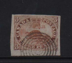 Canada #1 XF Used Margin Gem With Certificate